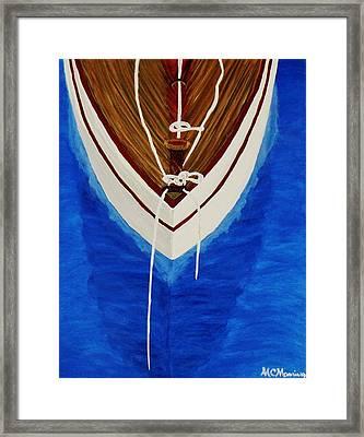 Sail On Framed Print by Celeste Manning