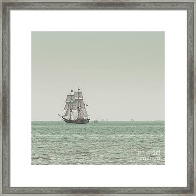 Sail Ship 1 Framed Print