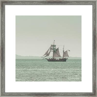 Sail Ship 2 Framed Print