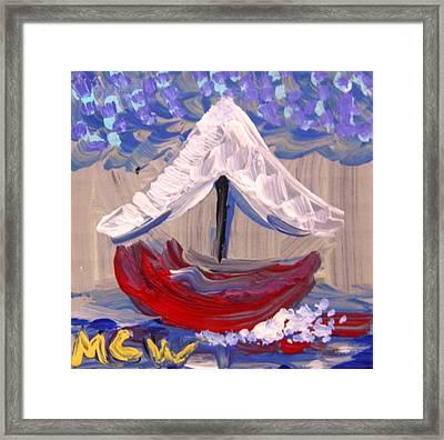 Sail Travel Framed Print