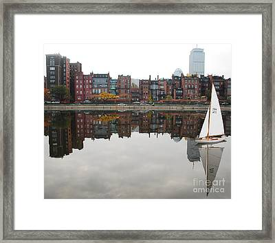Sail With Me Framed Print by Susan Hernandez