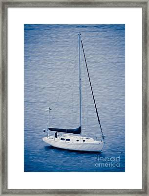 Sailboat Adventure Framed Print by Kenneth Montgomery