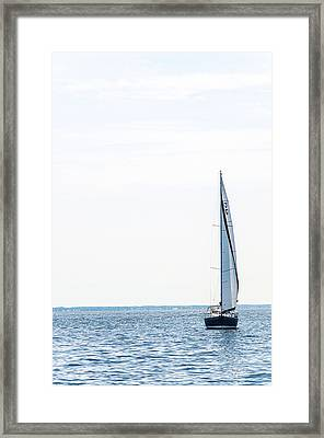 Sailboat Annapolis Framed Print