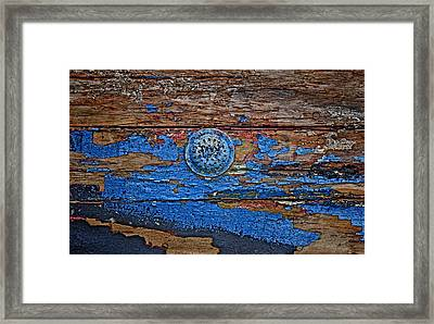Sailboat Drain Framed Print by Murray Bloom