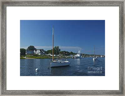 Sailboat Ride Framed Print by Amazing Jules