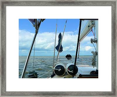 Sailboat View Horizontal Framed Print