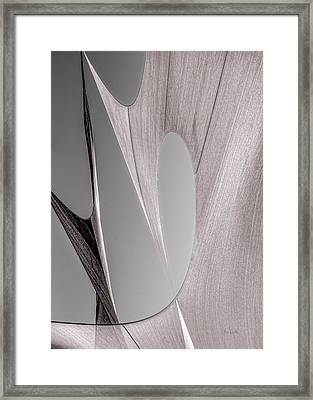 Sailcloth Abstract Number 2 Framed Print