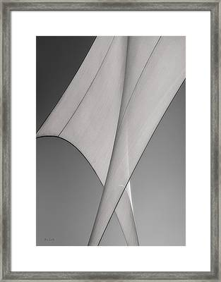 Sailcloth Abstract Number 3 Framed Print