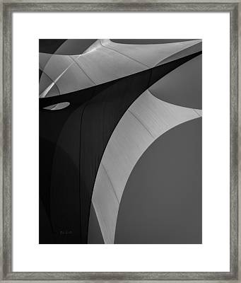 Framed Print featuring the photograph Sailcloth Abstract Number Eight by Bob Orsillo