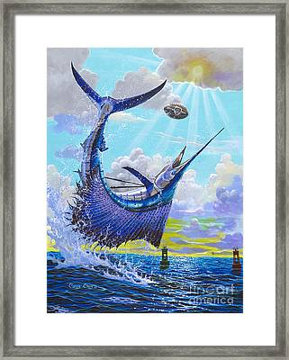Sailfish Football Off0030 Framed Print by Carey Chen