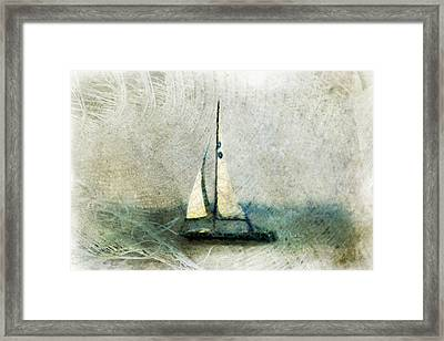 Sailin' With Sally Starr Framed Print by Trish Tritz