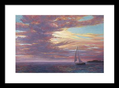 Florida Scenery Paintings Framed Prints