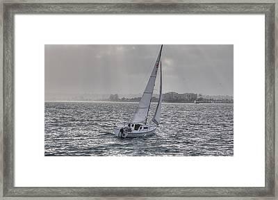 Sailing Bliss  Framed Print