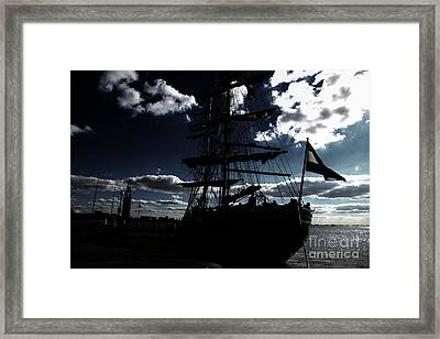 Sailing By Night Framed Print by Four Hands Art
