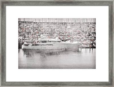Sailing Framed Print by Davina Washington