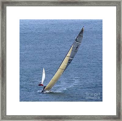 Sailing Fun Framed Print by Scott Cameron