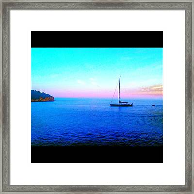 Sailing In Dubrovnik Framed Print by Maeve O Connell