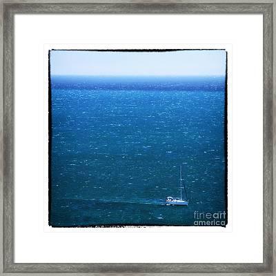 Sailing In Portugal Framed Print