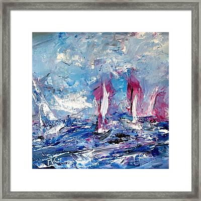 Sailing Magic Framed Print