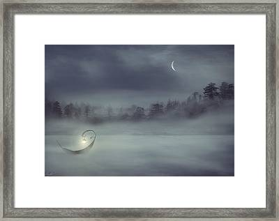 Sailing Odyssey Framed Print by Lourry Legarde