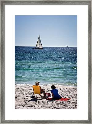 Sailing Sailing Framed Print