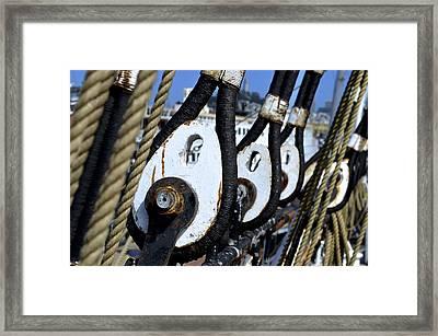 Sailing Ship Balclutha Framed Print by Alex King