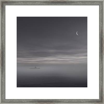 Sailing Solitude Framed Print
