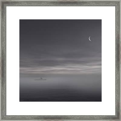 Sailing Solitude Framed Print by Lourry Legarde