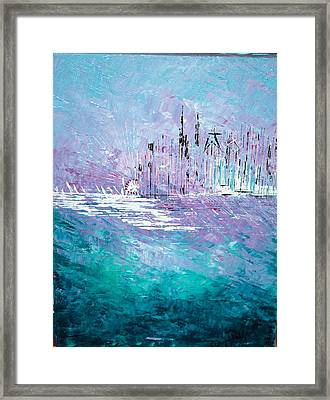 Sailing South - Sold Framed Print