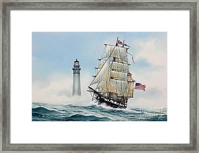 Sailing Spirit Framed Print