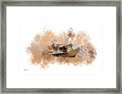 Sailing Time Framed Print by Lourry Legarde