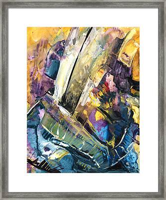 Sailing To Atlantis Framed Print by Miki De Goodaboom