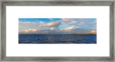 Sailing To Lahaina Framed Print