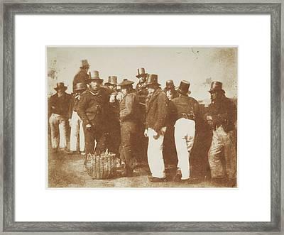 Sailors Framed Print