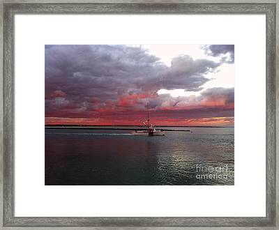 Sailors Delight 2 Framed Print