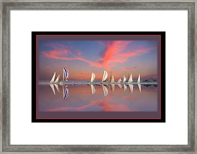 Sailors Delight Framed Print by Alex M Wolff