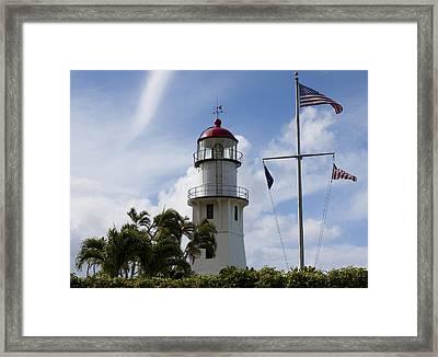 Sailor's Guiding Light Framed Print