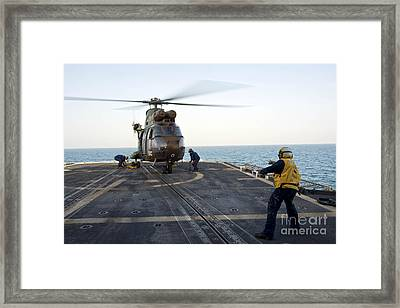 Sailors Place Chocks And Chains Framed Print