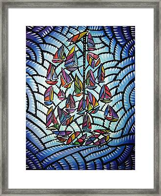 Sails 2008 Framed Print
