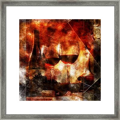 Saint Amour Framed Print