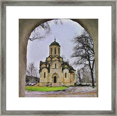 Saint Andronic Monastery In Moscow 3 Framed Print by Yury Malkov