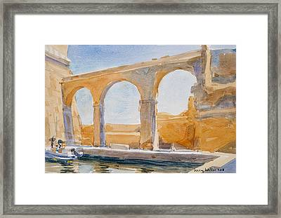 Saint Angelo Framed Print by Lucy Willis