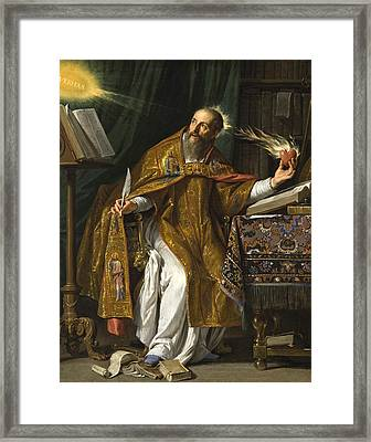 Saint Augustine Framed Print