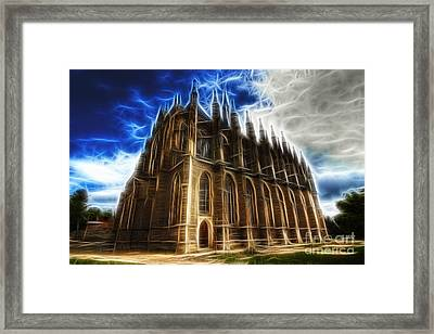 Saint Barbara Church Kutna Hora Framed Print by Michal Boubin