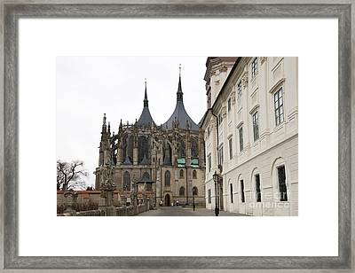 Saint Barbara Church  Framed Print by Michal Boubin