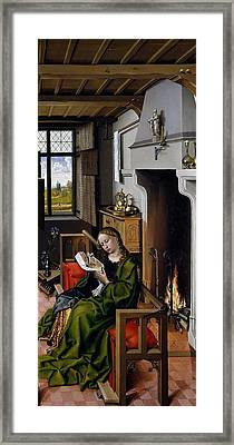 Saint Barbara Framed Print by Robert Campin