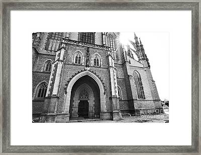 Saint Barbara's Church  Framed Print by Michal Boubin