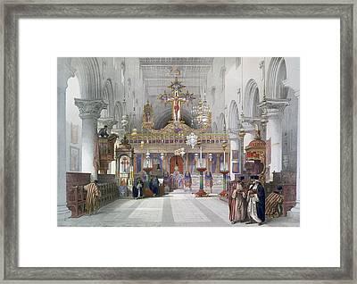 Saint Catherine Chapel Framed Print