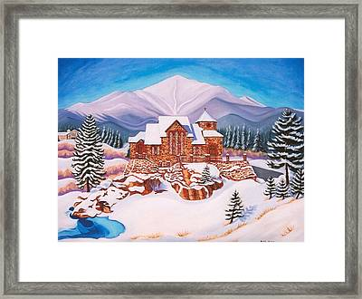 Saint Catherine Chapel Framed Print