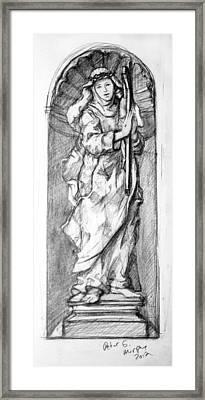 Saint Catherine Of Siena Framed Print